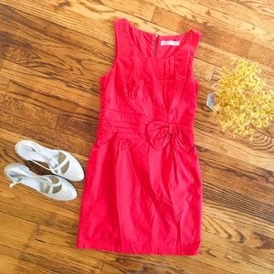 Dresses & Skirts - Boutique Dress Small in red with bow